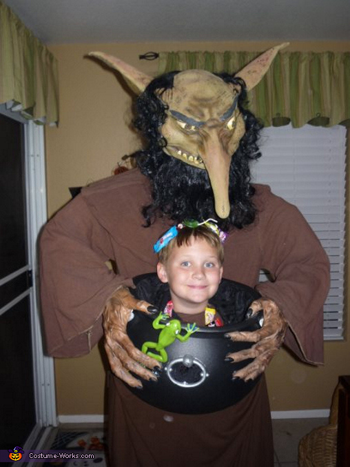 Hungry Troll Costume