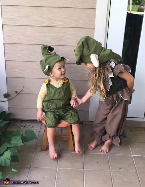 Troll Babies Homemade Costume