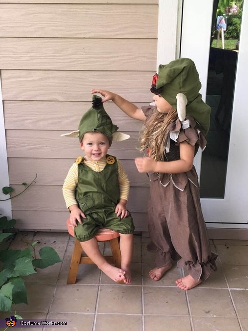 Troll Babies Homemade Costume