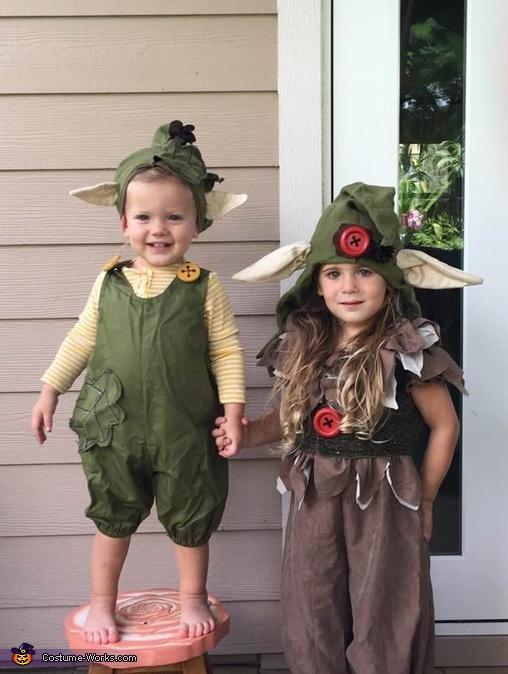 Troll Babies Costume