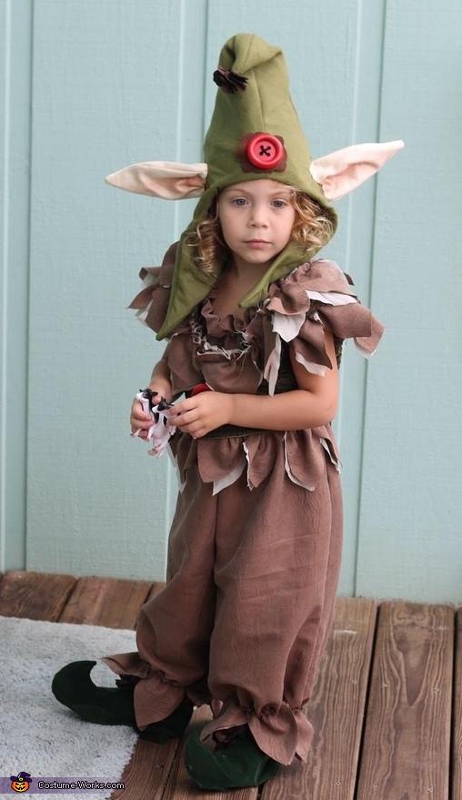 Troll Baby Costume
