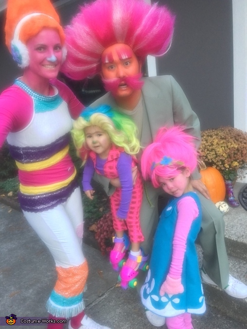 Trolls and Bergen Costume