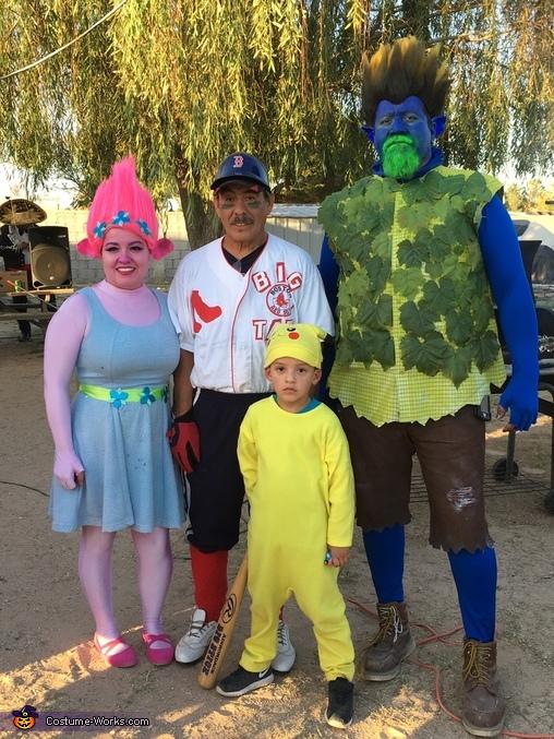 Trolls 3, Trolls Branch & Poppy Costume