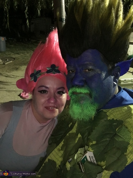 Trolls 4, Trolls Branch & Poppy Costume