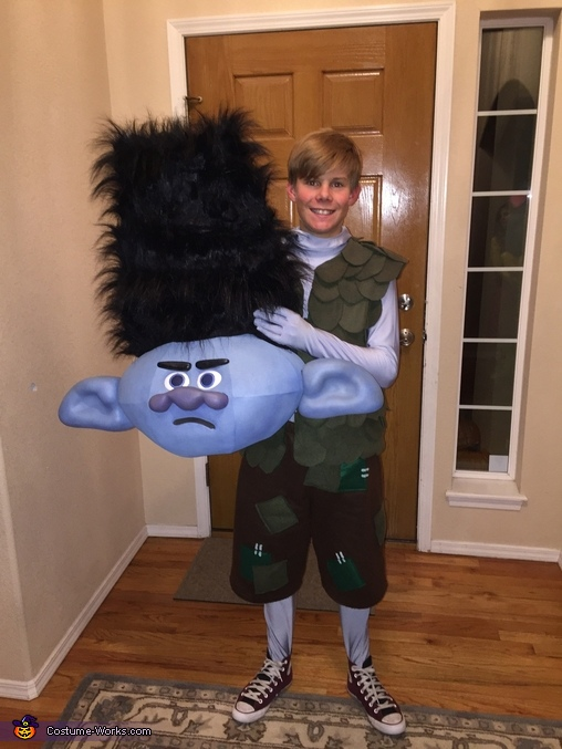 My Son, Trolls Family Costume