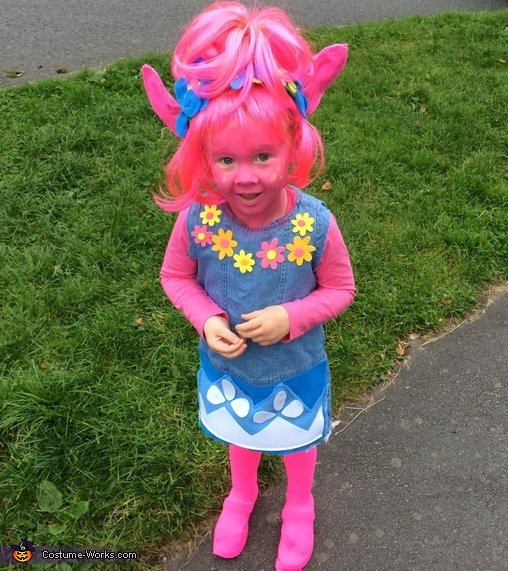 Trolls Poppy Costume