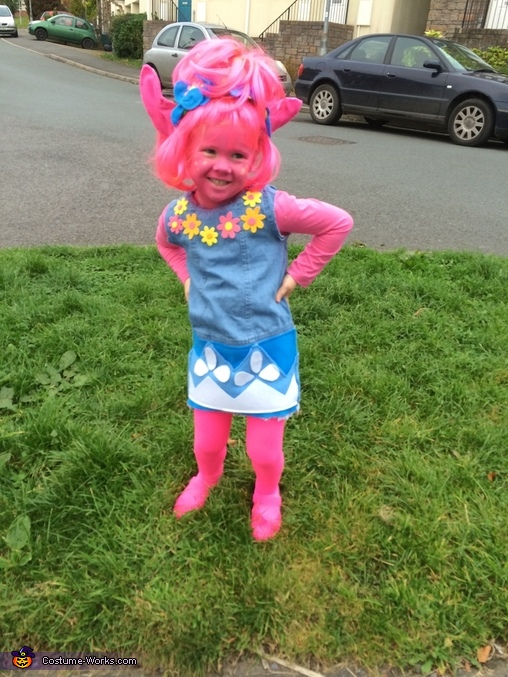 Trolls Poppy Homemade Costume