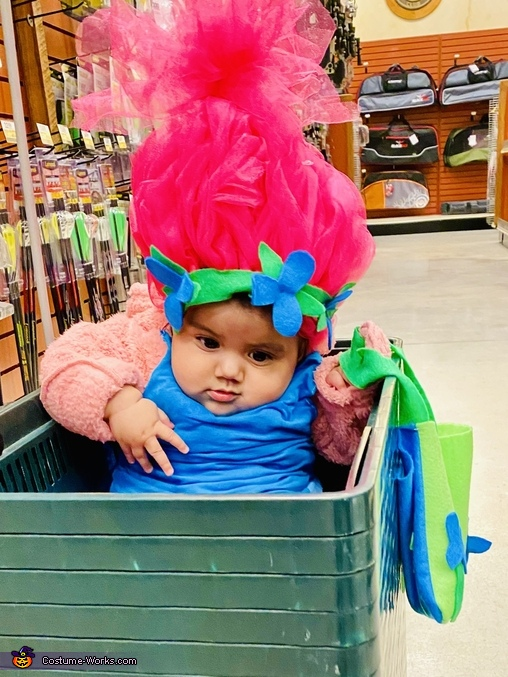 Let's get back up, Trolls Poppy and Branch Costume