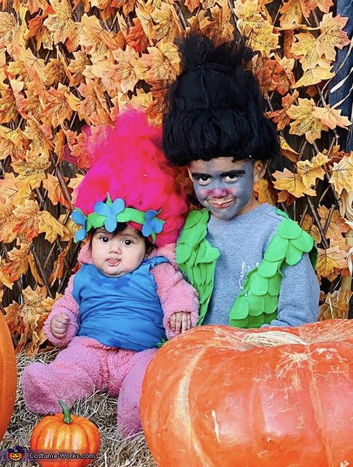 Trolls Poppy and Branch Costume