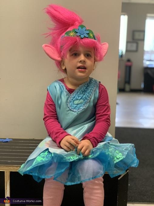 Queen poppy, Trolls: Tiny Diamond and Poppy Costume