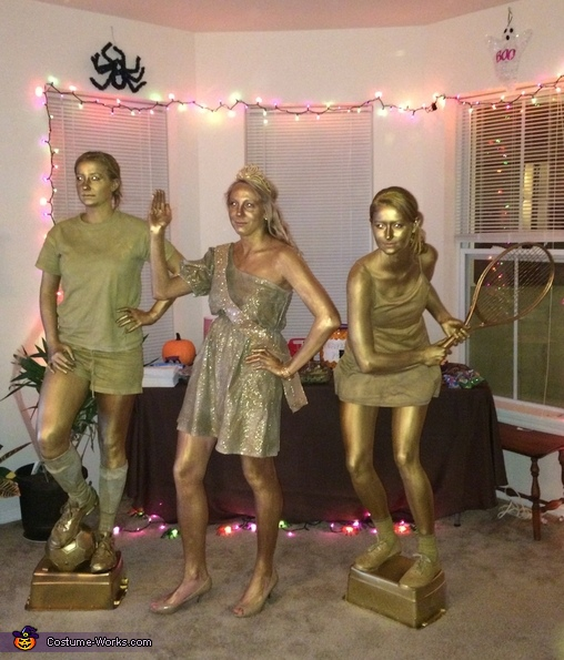 Trophies Group Costume