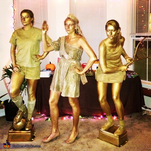 Edited group of trophies, Trophies Group Costume