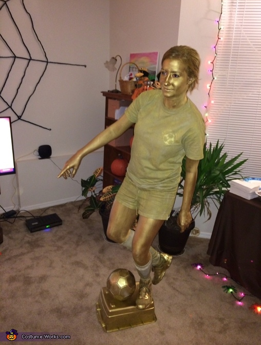 Soccer trophy, Trophies Group Costume