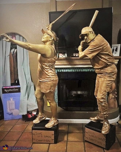 Trophy Couple Costume