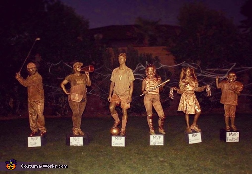 Trophy Family Costume