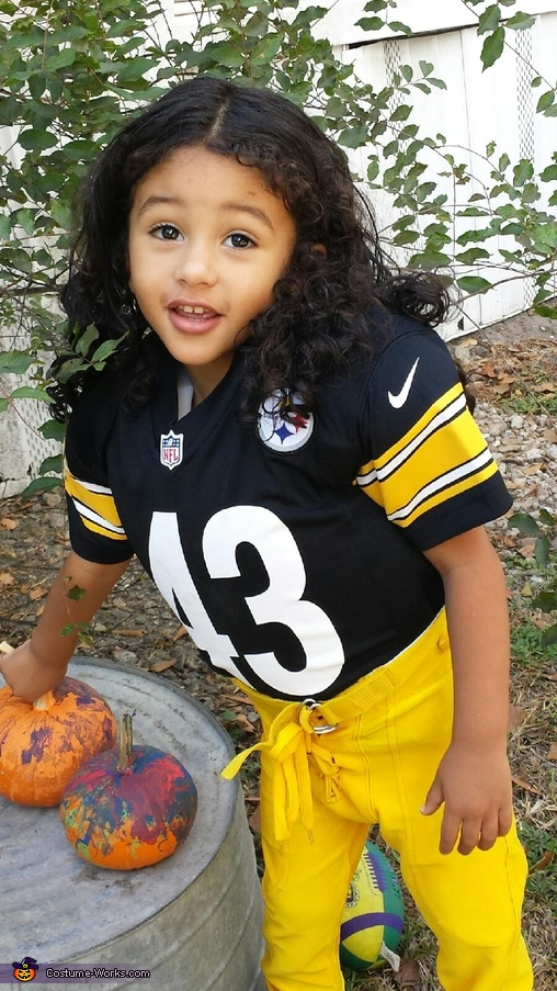 Troy Polamalu Homemade Costume