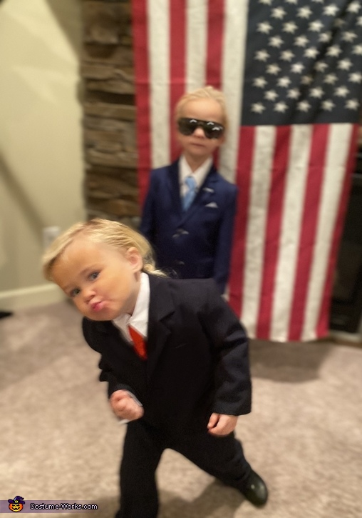 Trump / Biden 2020 Homemade Costume