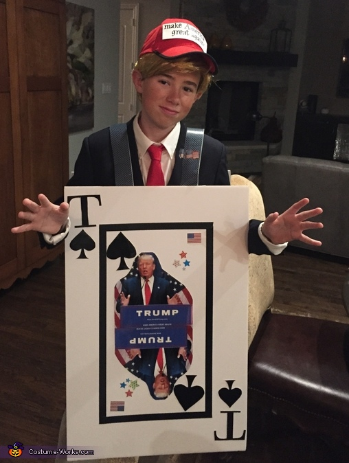 Trump Card Costume