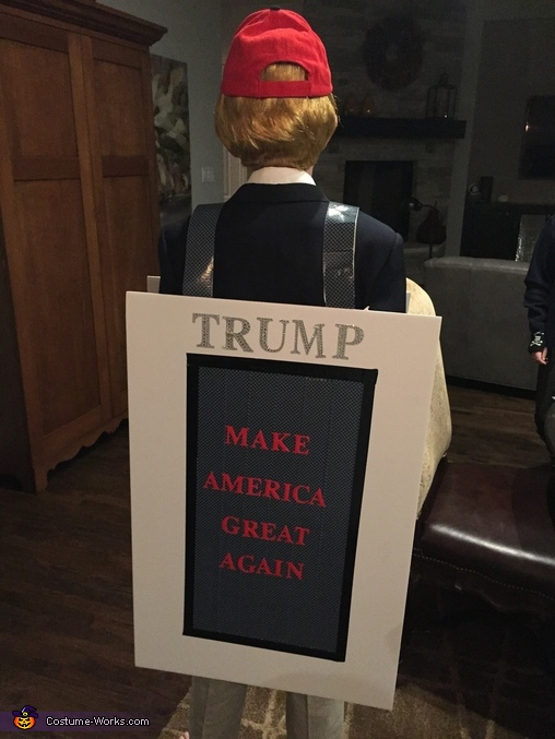 Trump Card Homemade Costume