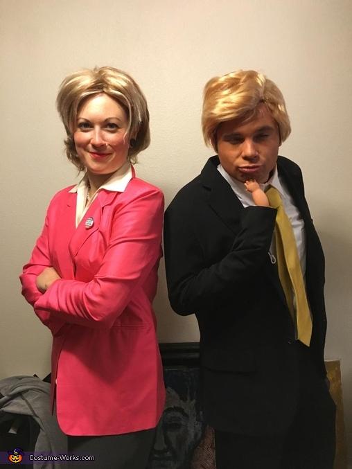 Trump & Hillary Costume