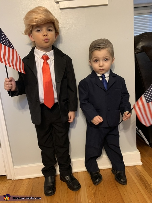 Trump & Pence Homemade Costume