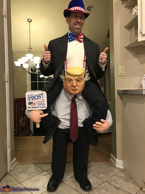Trump supporting New Candidate Costume