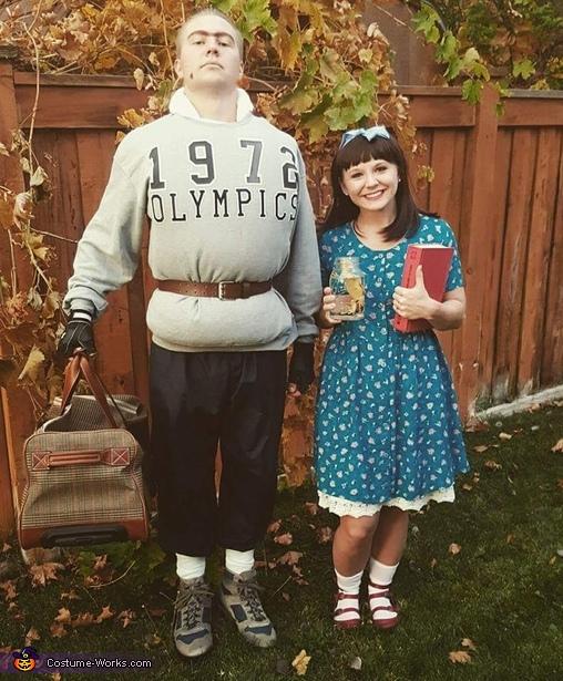 Trunchbull and Matilda Costume