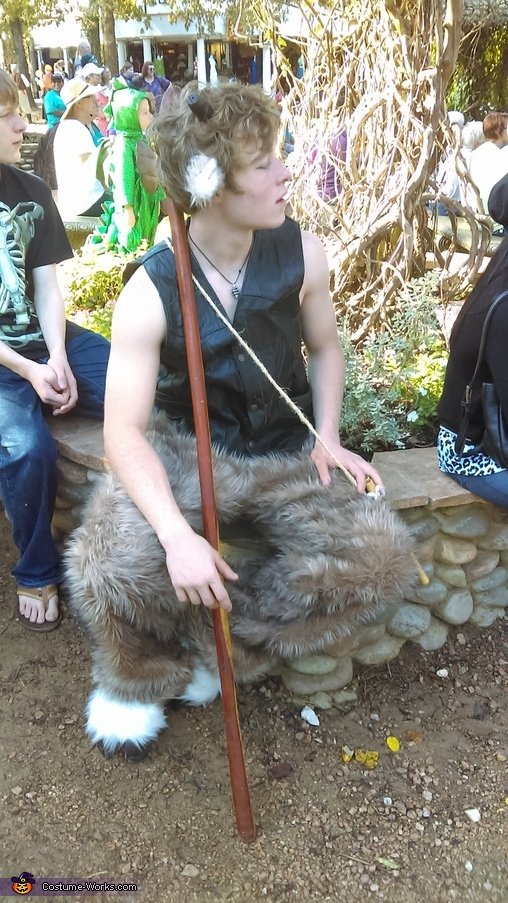 Tumnus sitting, Tumnus from Narnia Costume