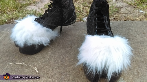 Hooves finished, Tumnus from Narnia Costume