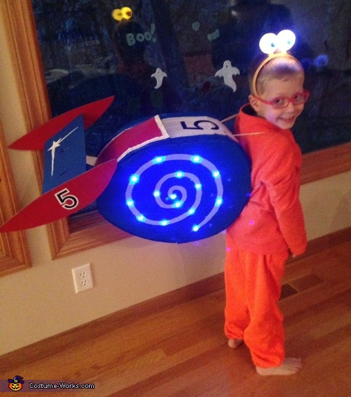 Turbo the Snail Costume