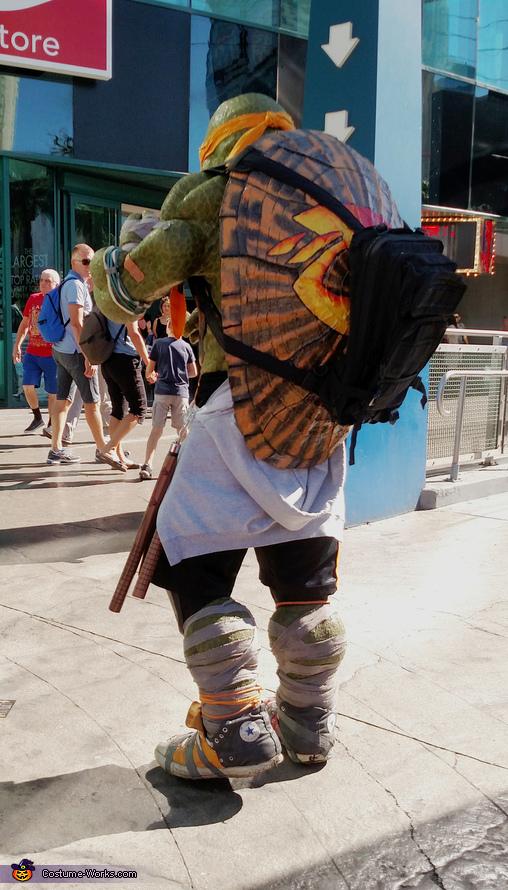 Turtle Power Homemade Costume