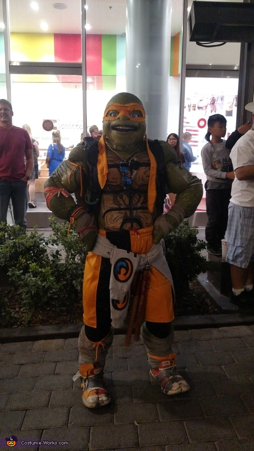 Turtle Power Homemade Costume
