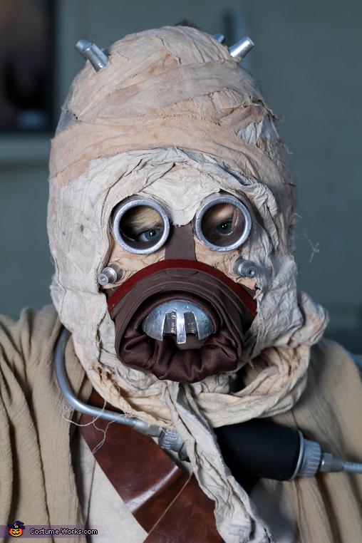 Tusken Raider mask, Tusken Raider riding a Bantha Costume