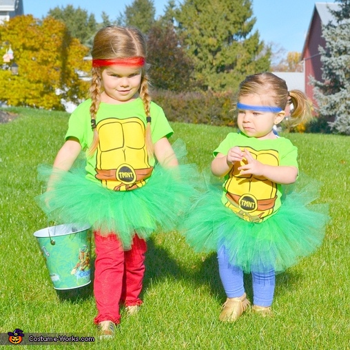 Tutu Mutant Ninja Turtle-ettes Costume