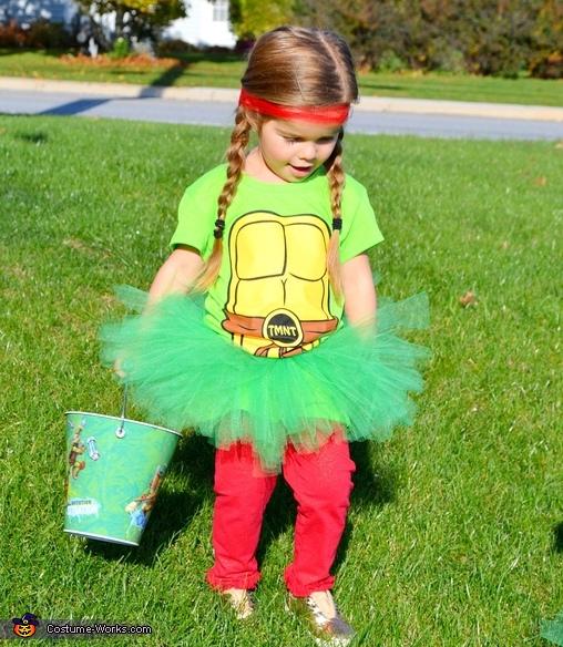Raphael-A, Tutu Mutant Ninja Turtle-ettes Costume