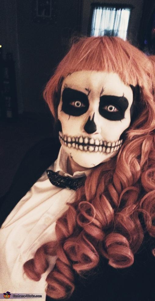 Slightly edited for a crisper image., Tuxedo Skeleton Costume
