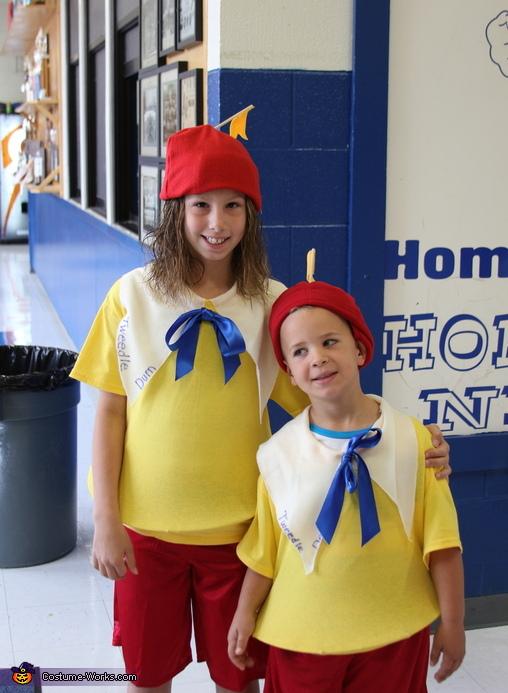 Tweedle Dee and Tweedle Dum Kids Costume