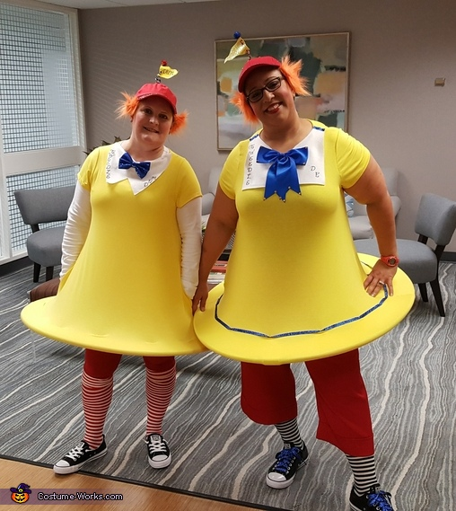 Twiddle D and Twiddle Dum Costume