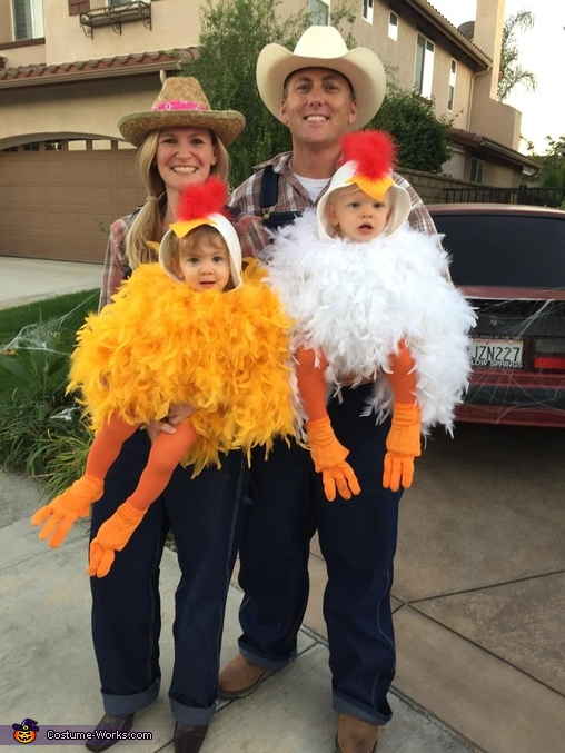Twin Baby Chicks Costume