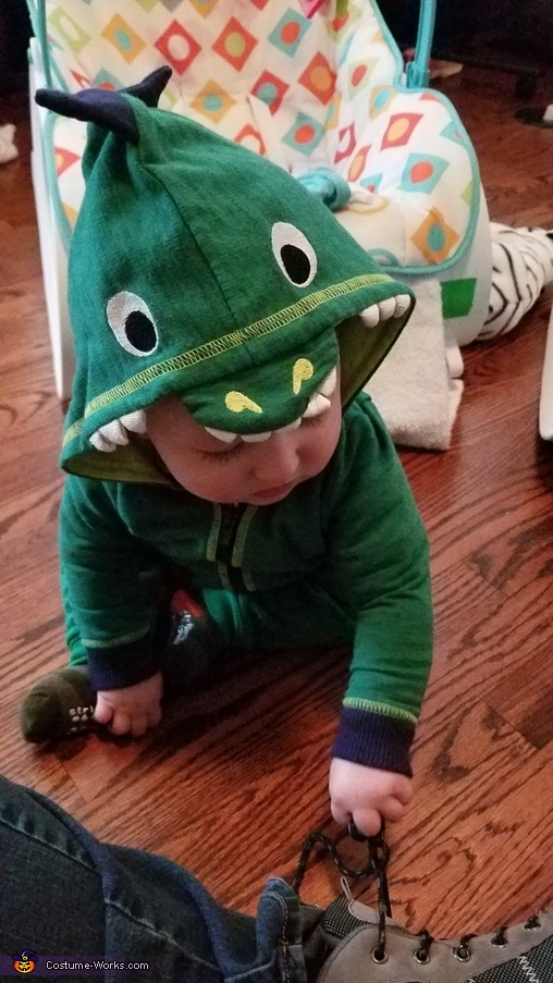 Twin Lizzards Costume