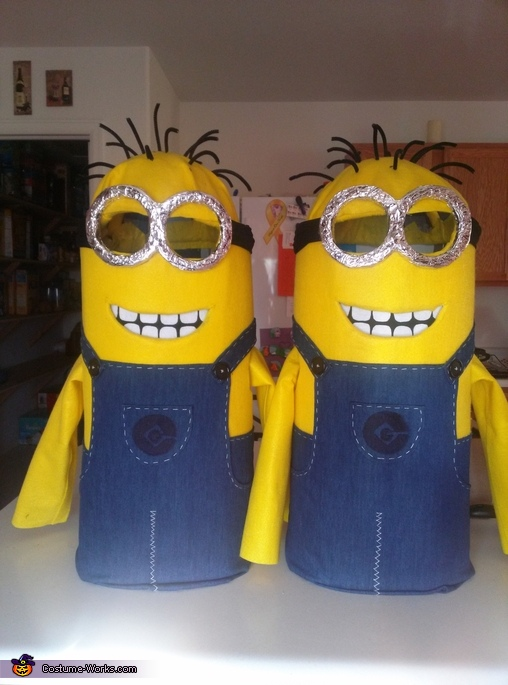 Just the costumes., Twin Minions Costume