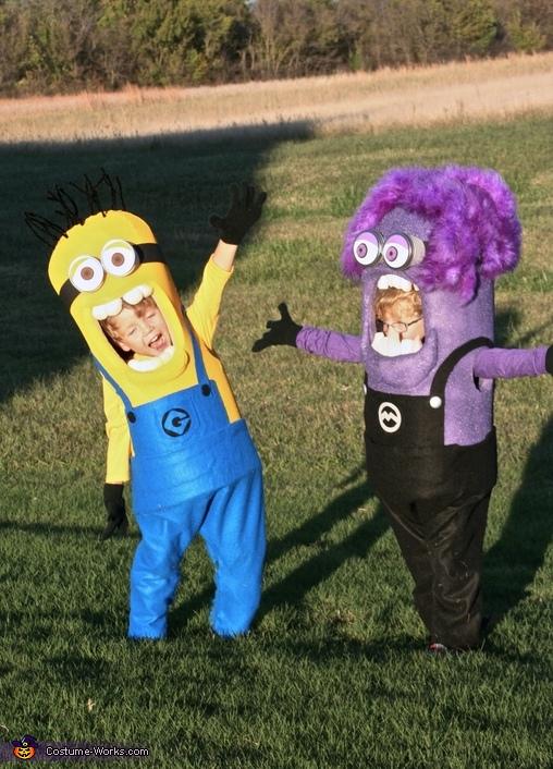 Twin Minions, Twin Minions Costume