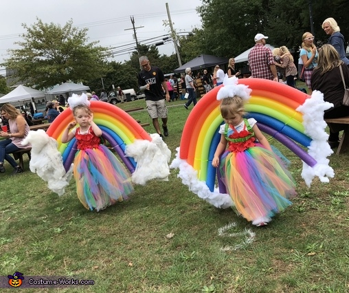 Twin Sister Rainbows Costume