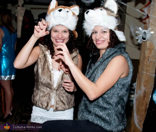 Twin Wolves Costume