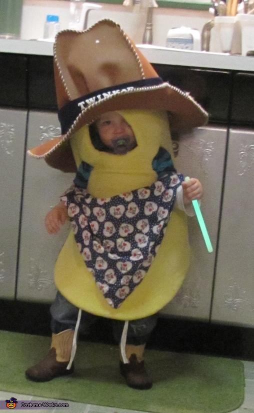 Twinkie the Kid Homemade Costume