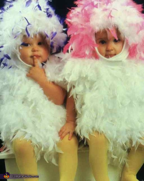 Twins Chicks Baby Costume