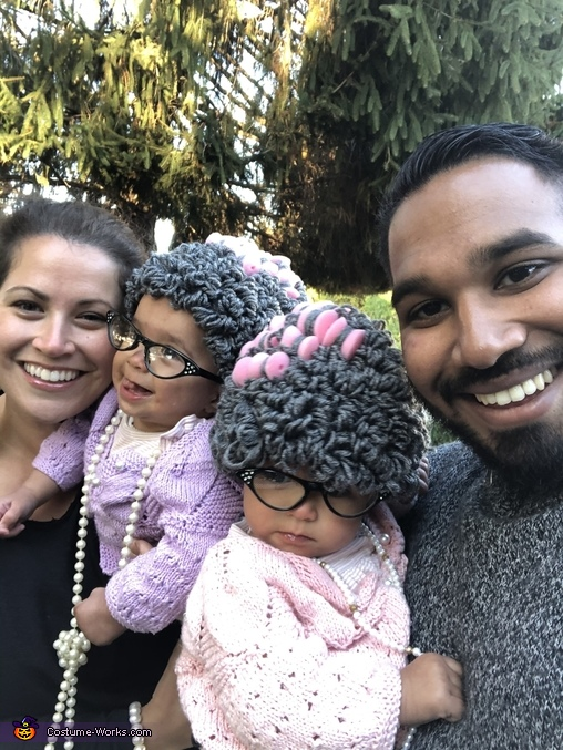 Family photo, Twinsville Seniors Costume