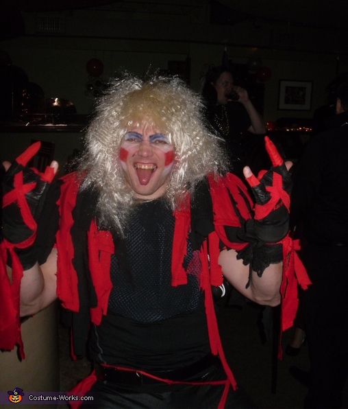 Twisted Sister Costume