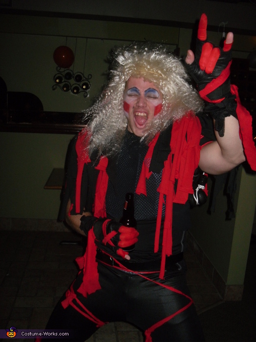 Not gonna take it, Twisted Sister Costume