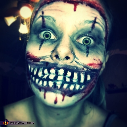 Twisty the Clown Makeup